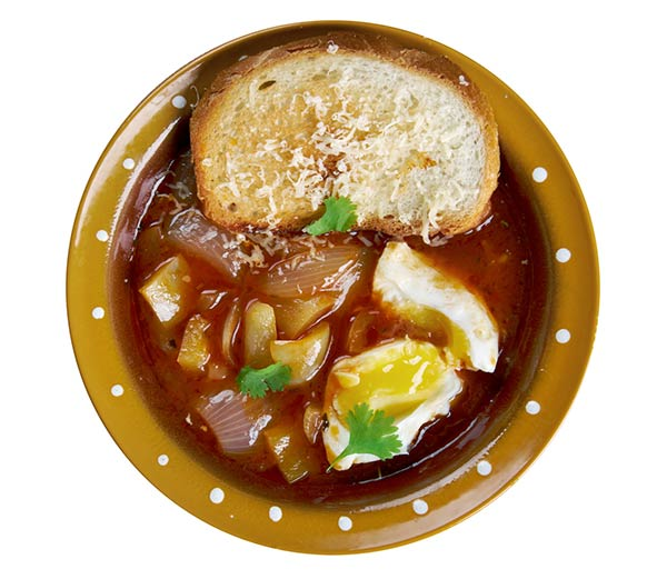 """ACQUACOTTA (""""COOKED WATER"""", A CLASSIC SOUP OF THE MAREMMA)"""